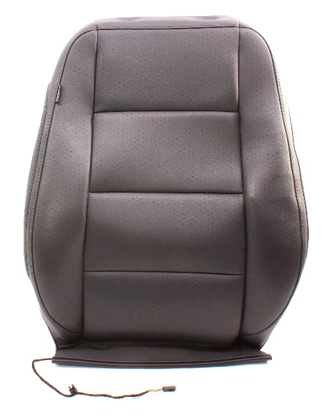 RH Front Seat Back Rest Cover & Foam 05-10 VW Jetta Mk5 Perforated Leatherette