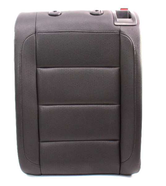 LH Rear Seat Back Rest & Latch 05-10 VW Jetta MK5 - Anthracite Leatherette