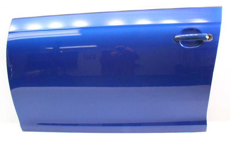 LH Front Door Shell Skin 05-10 VW Jetta & Sportwagen MK5 MK6 LC5J Blue - Genuine