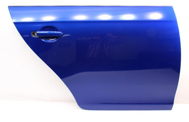RH Rear Door Shell Skin 05-10 VW Jetta Sedan MK5 LC5J Laser Blue - Genuine