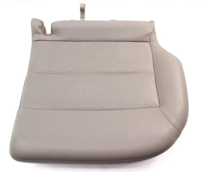 LH Rear Lower Seat Cushion & Cover 01-05 VW Passat Wagon B5.5 - Gray Leatherette