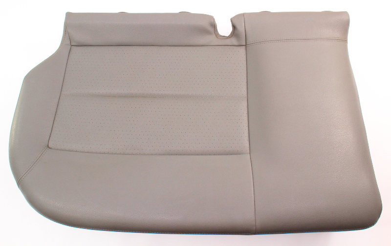 RH Rear Lower Seat Cushion & Cover 01-05 VW Passat Wagon B5.5 - Gray Leatherette