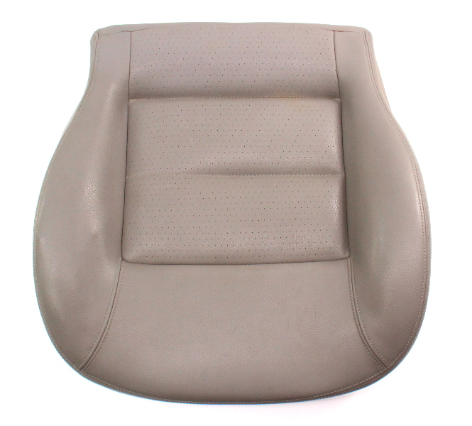 Front Seat Cushion & Cover 01-05 VW Passat B5.5 Grey Leatherette - Genuine