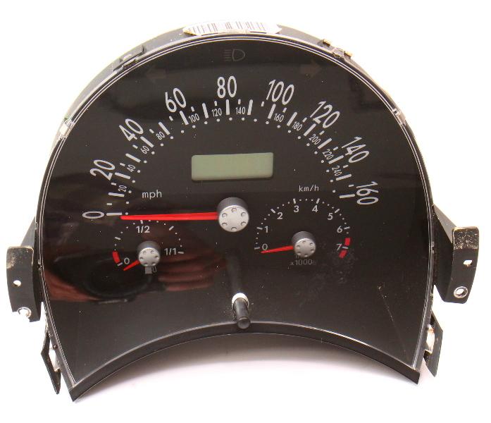 Gauge Instrument Cluster Speedometer 00-01 VW Beetle 1.8T MT - Genuine