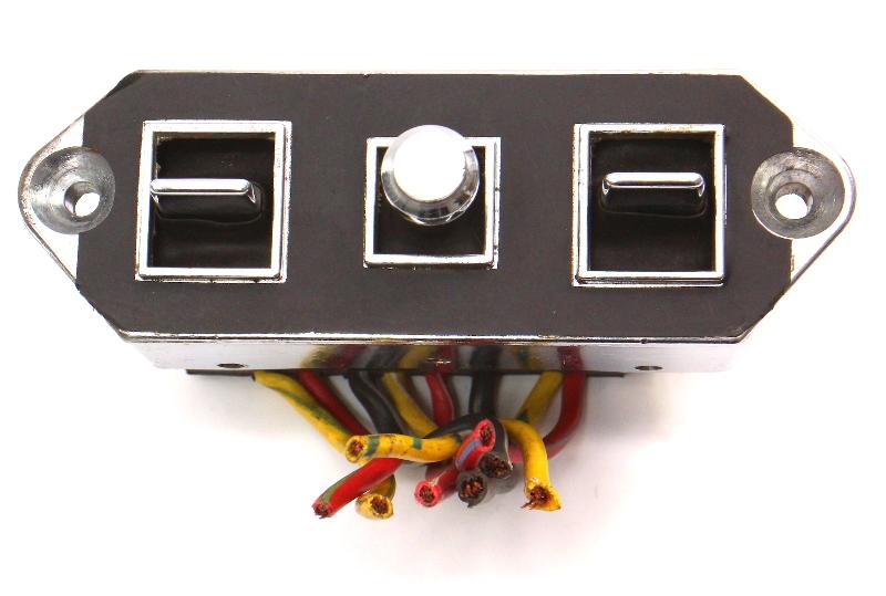 Power Seat Seat Switch Controls 1991 Audi 200 - Genuine - 433 971 380