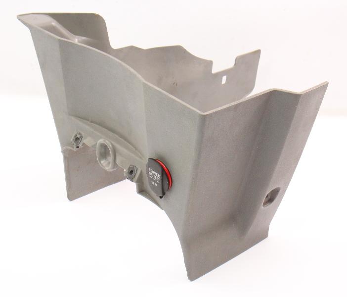 Lower Dash Center Console Trim & Power Outlet 98-05 VW Beetle - 1C1 857 206 B