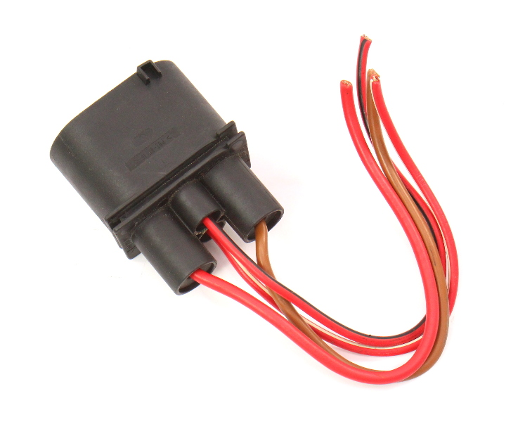 Cooling Fan Plug Pigtail VW Jetta Golf GTI Mk4 Beetle - 1J0 906 444