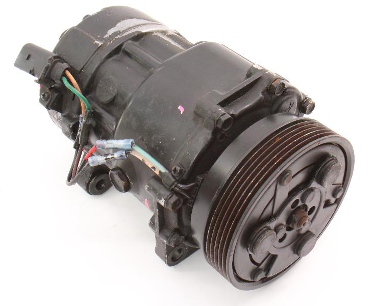 AC Compressor 00-05 VW Jetta Golf MK4 Beetle TT MK1 Genuine ~ 1J0 820 803 F