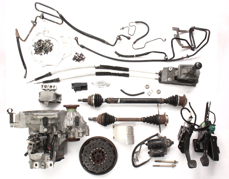 Manual Transmission Swap Parts Kit 99-05 VW Jetta Golf GTI MK4 Beetle ~ 02J EBQ