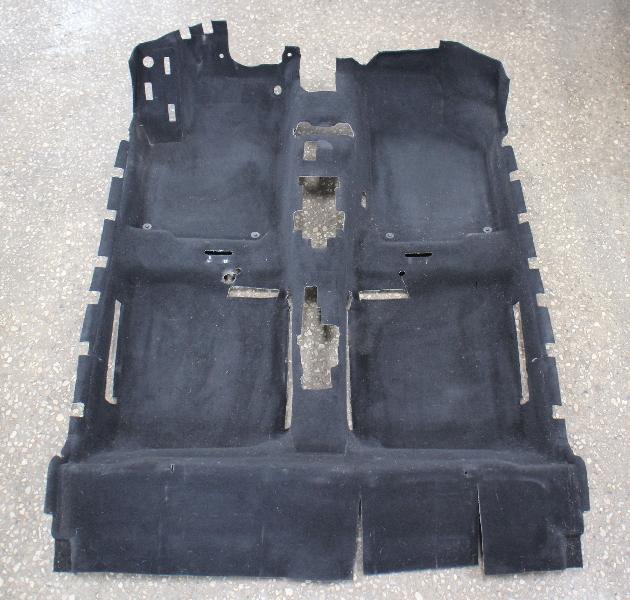 Interior Floor Carpet 98-10 VW Beetle Black - Genuine - 1C1 863 367 J