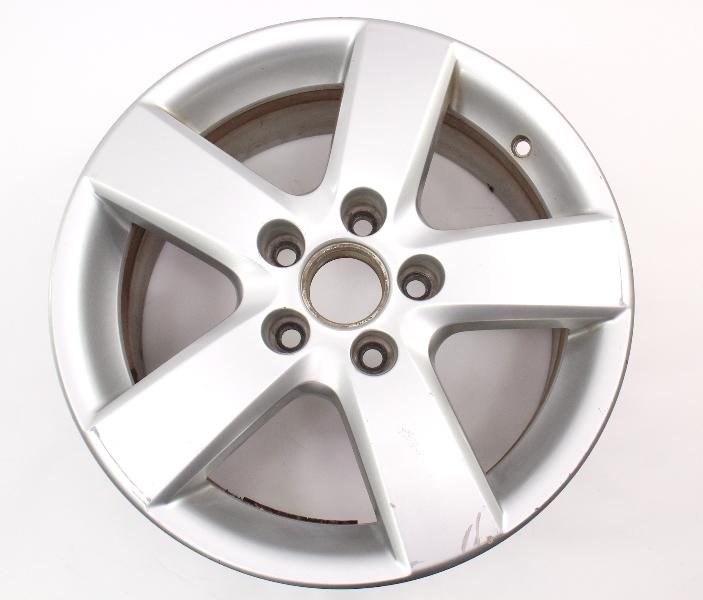 """16"""" 5x112 Alloy Wheel Rim 05-14 VW Jetta Rabbit Golf MK5 MK6 ~ 1T0 601 025 M"""