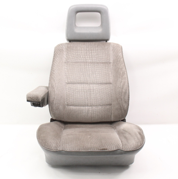 RH Front Grey Bucket Seat Captains Chair 80-91 VW Vanagon T3 Transporter