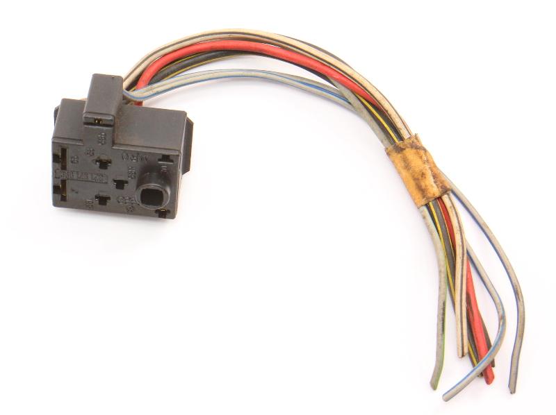 Headlight Switch Wiring Plug Pigtail 75-80 VW Rabbit Scirocco Jetta MK1 Genuine