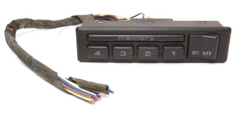 Memory Seat Switch 1988 Audi 5000 100 - Genuine - 443 959 769