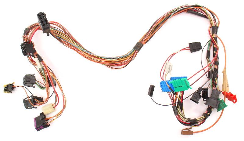 Dash Wiring Harness 93-99 Vw Jetta Golf Cabrio Mk3 Dashboard Obd