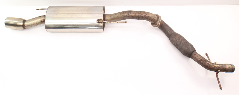 Performance Cat Back Exhaust System 95-02 VW Cabrio 2.0 ABA MK3