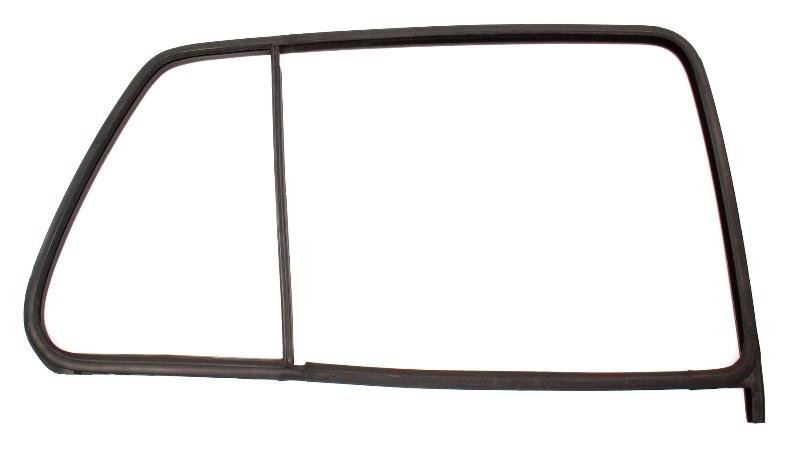 Rh Rear Window Door Glass Rubber Seal 93-99 Vw Jetta Golf 4 Door Mk3