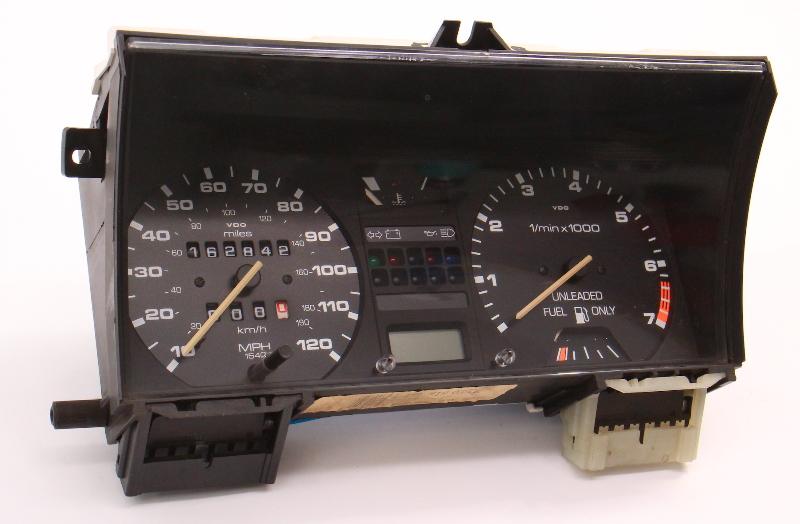 Gauge Cluster Speedometer Tach 85-89 VW Jetta Golf MK2 CE1 Gas - 191 919 035 DK