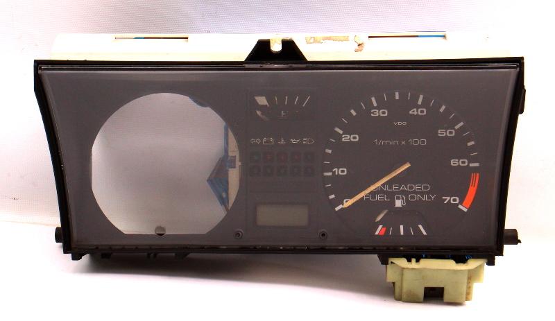 Gauge Cluster Tach Lens Foil 89-92 VW Jetta Golf MK2 8v Gas CE2 - 191 919 035 FP