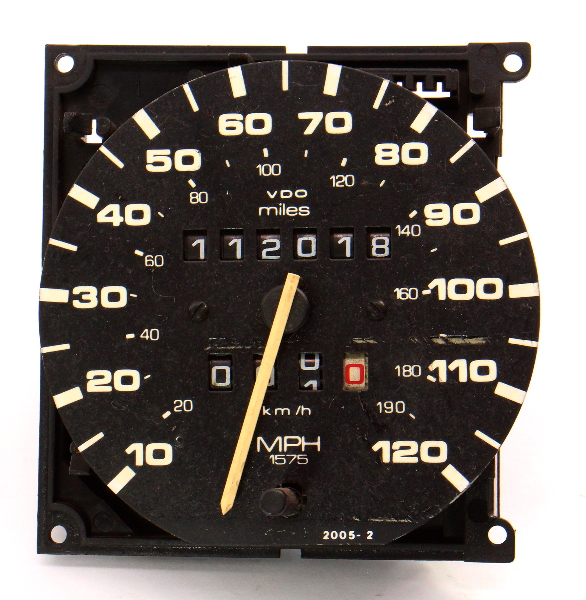 Instrument Gauge Cluster Speedometer 87-93 VW Fox - Genuine