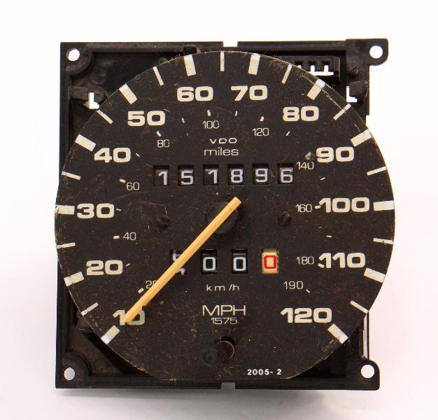 Instrument Gauge Cluster Speedometer 87-93 VW Fox ~ Genuine