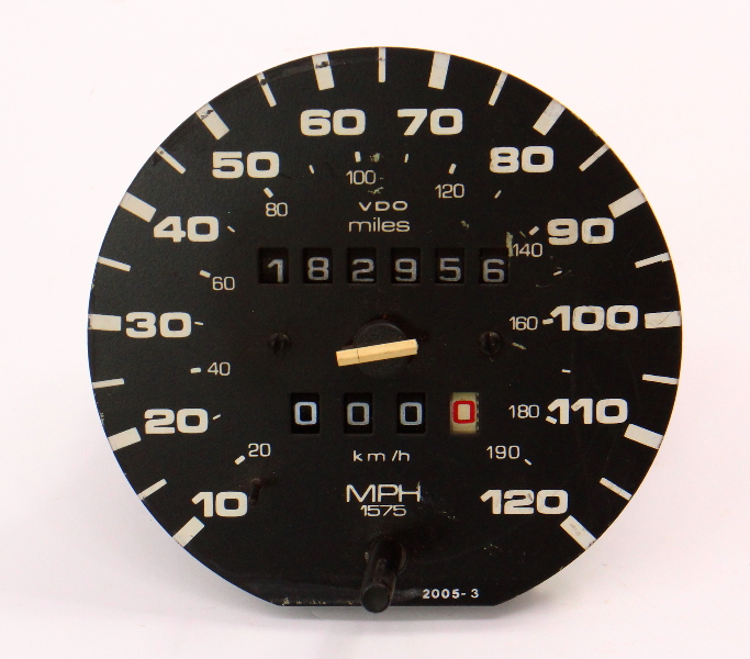 Instrument Gauge Cluster Speedometer 87-93 VW Fox ~ Genuine ~