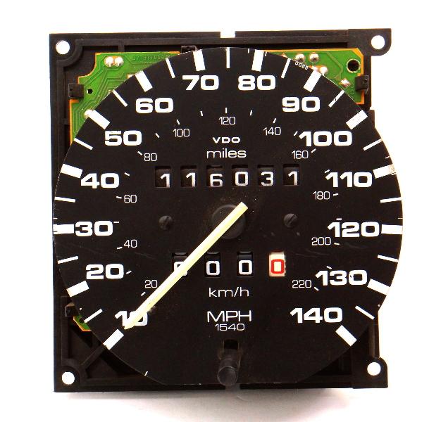 140MPH Speedometer Gauge Cluster 85-89 VW GTI GLI 16v MK2 CE1 VDO
