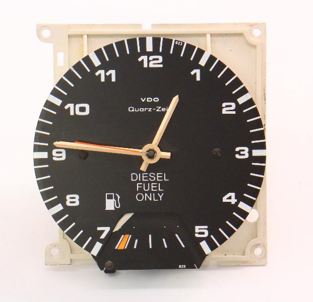 Gauge Cluster Clock Fuel 85-89 VW Jetta Golf MK2 Diesel CE1 - Genuine