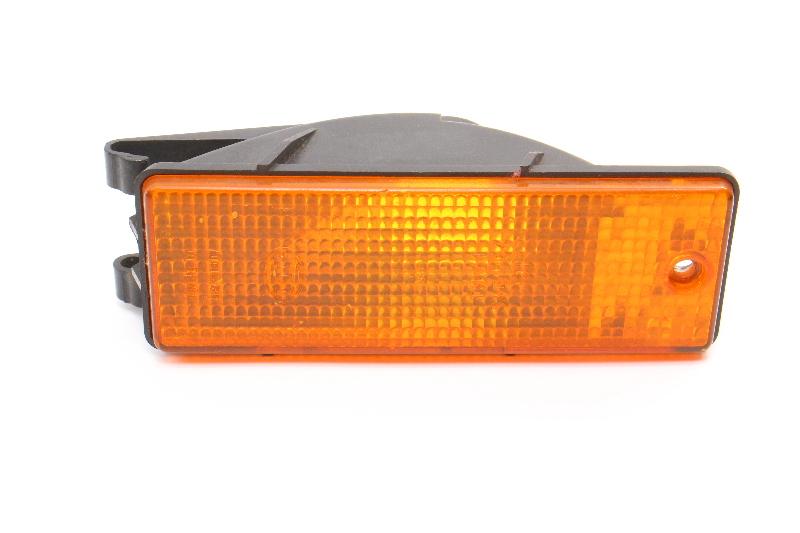 Front Bumper Turn Signal Lamp Lens 85-87 VW Jetta MK2 - Genuine - 165 953 155 A