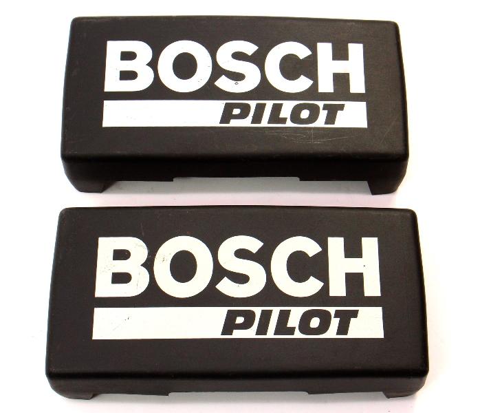 Bosch Pilot Foglight Cover Set BMW E30 VW Rabbit Golf GTI MK1 MK2 Scirocco