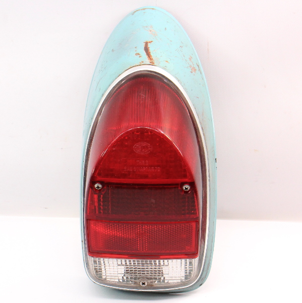 LH Tail Light Lamp Lens & Housing 71-72 VW Beetle Bug Aircooled - Genuine Hella