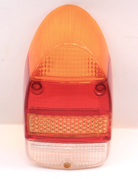 RH Tail Light Lamp Lens 68-70 VW Beetle Bug Aircooled - Euro Amber Top