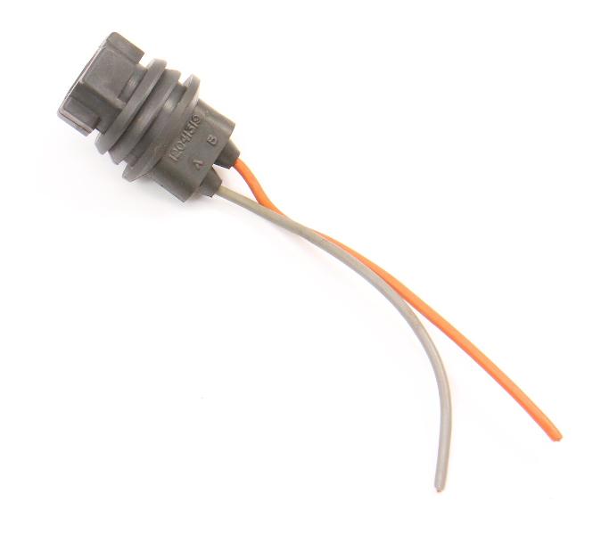 Side Marker Fender Bulb Light Pigtail Wiring Plug 85-90 VW Jetta Golf GTI MK2