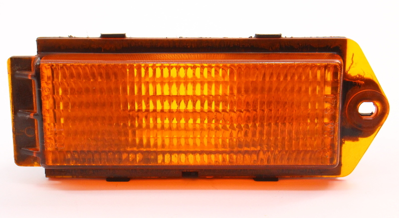 Front Bumper Turn Signal Lamp Lens 85-87 VW Jetta MK2 - Genuine - 176 953 041