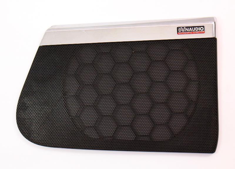 Driver Front DynAudio Speaker Grill Cover 06-10 VW Passat B6 ~ 3C0 867 149 C