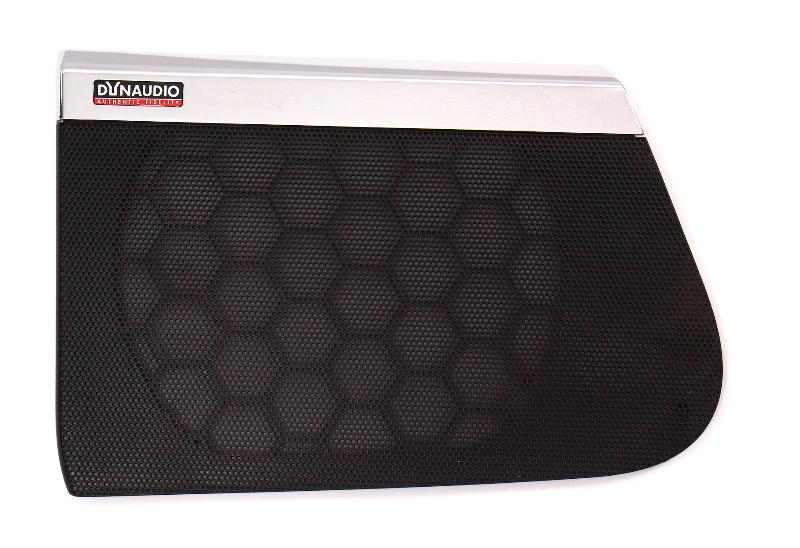 RH Front DynAudio Speaker Grill Cover Trim 06-10 VW Passat B6 ~ 3C0 867 150 C