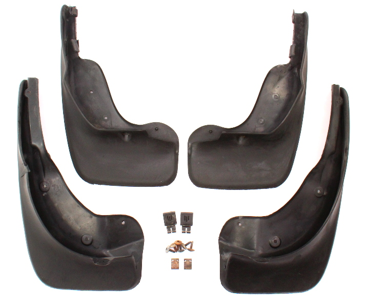 Mud Flap Splash Guard Set 06-10 VW Passat B6 - Genuine - 3C0 075 101