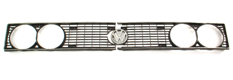 Grill Grille Headlight Trim 78-81 VW Scirocco MK1 - Genuine -