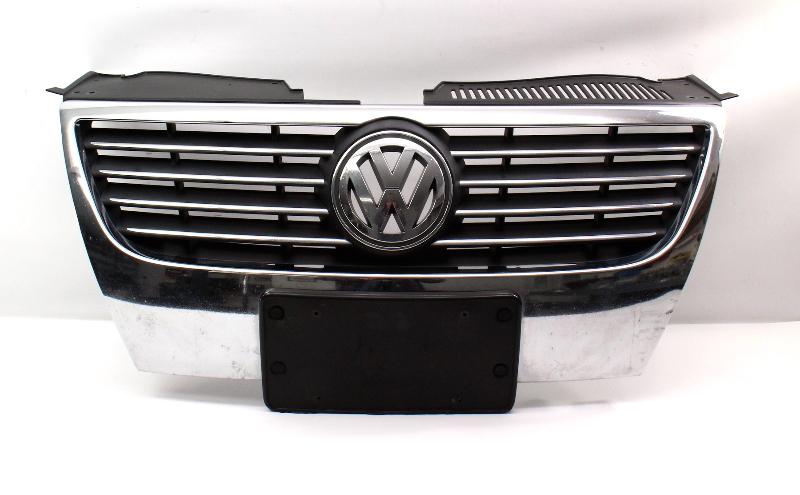 Front Grill Grille 06-10 VW Passat B6 - Genuine - 3C0 853 651 G