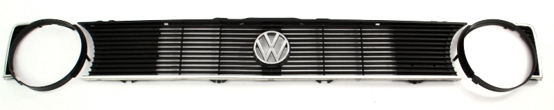 Single Round Grill Grille 77-84 VW Rabbit Mk1 - Genuine - 171 853 653 IL