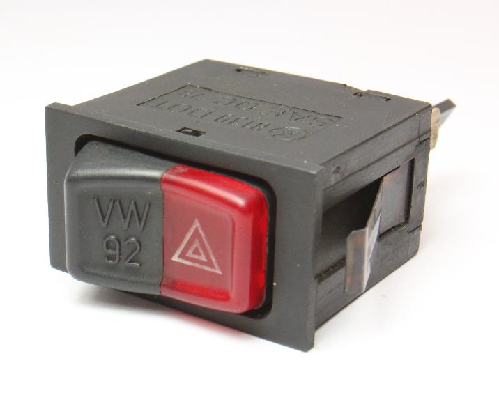 Hazard Lights Switch Button 80-84 VW Rabbit Jetta Cabriolet MK1 ~ 161 953 235 A