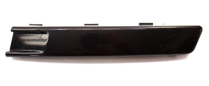 LH Front Bumper Trim Filler Panel 06-10 VW Passat B6 LC9X Black - 3C0 807 645 A