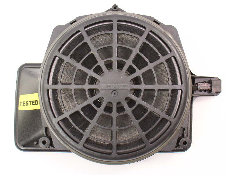 Center Rear Speaker Bose Subwoofer 02-05 Audi A4 S4 B6 - Genuine - 8E5 035 412 B