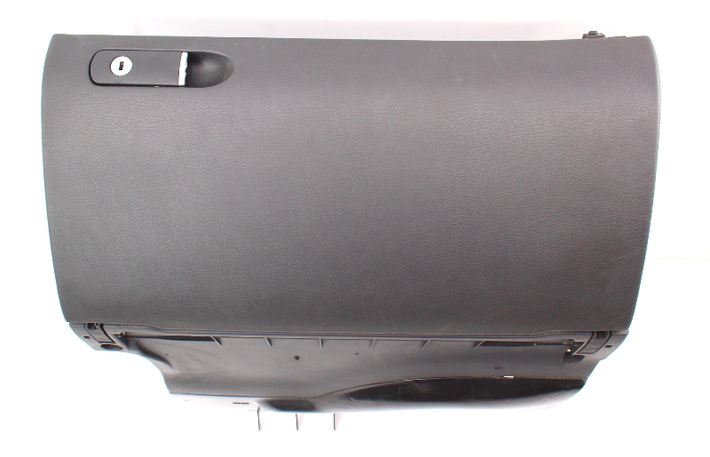 Glovebox Glove Box Compartment Gray 02-08 Audi A4 S4 B6 B7 Black - Genuine