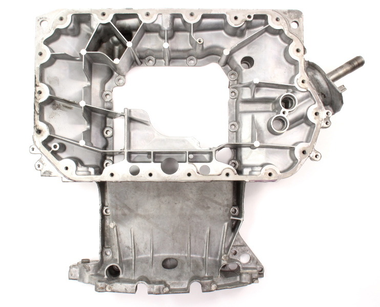 Upper Oilpan Oil Pan 2.7T 00-05 Audi S4 A6 Allroad - Genuine - 078 103 603 AG