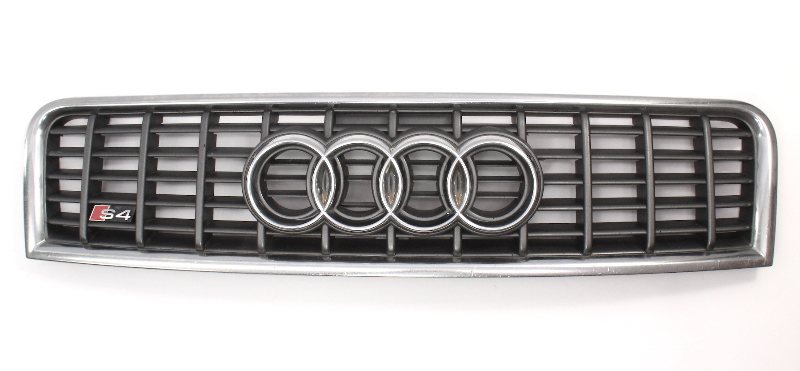 Upper Hood Grill Grille 04-05 Audi S4 B6 - Genuine
