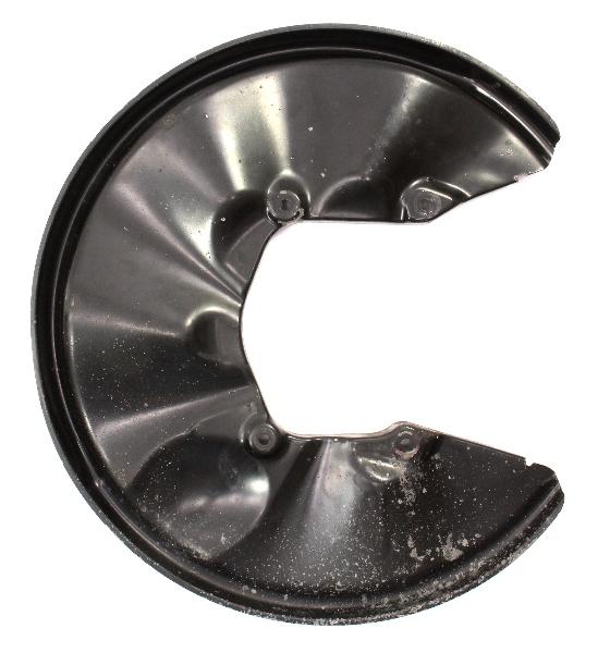 RH Rear Brake Caliper Dust Shield 04-09 Audi S4 B6 302mm Genuine - 8E0 615 612 N