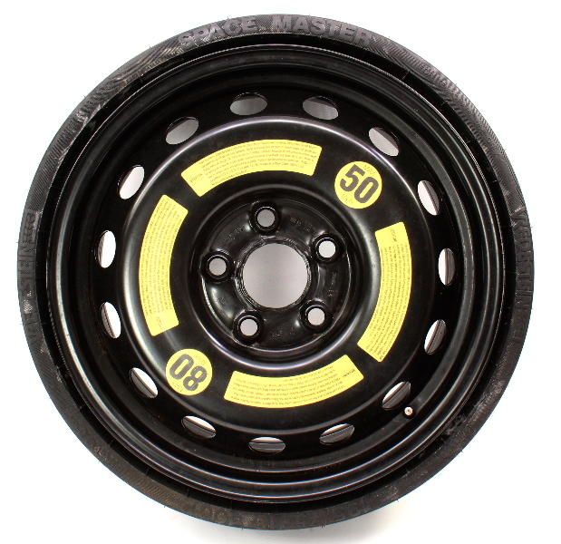 Space Saver Spare Compact Tire Wheel 04-10 VW Touareg - Genuine - 7L0 601 027 A