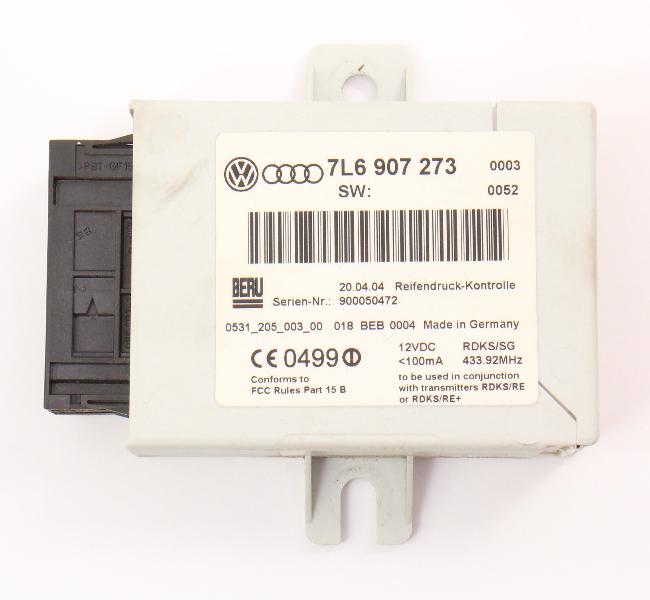 TPMS Module Computer 04-10 VW Touareg - Genuine - 7L6 907 273