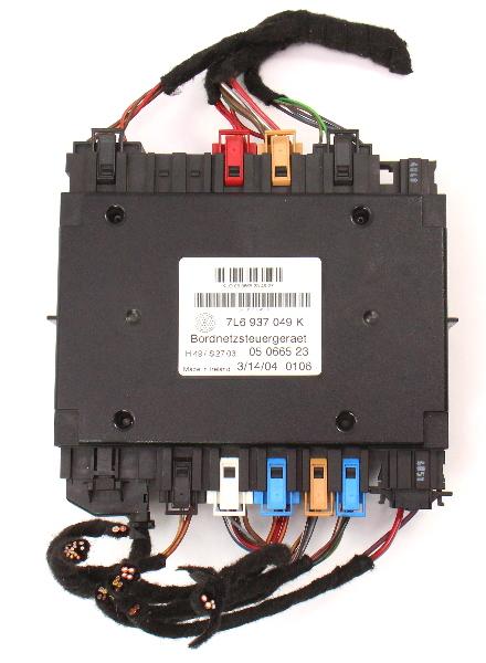 BCM Body Control Module Computer 04-05 VW Touareg - 7L0 937 049 K
